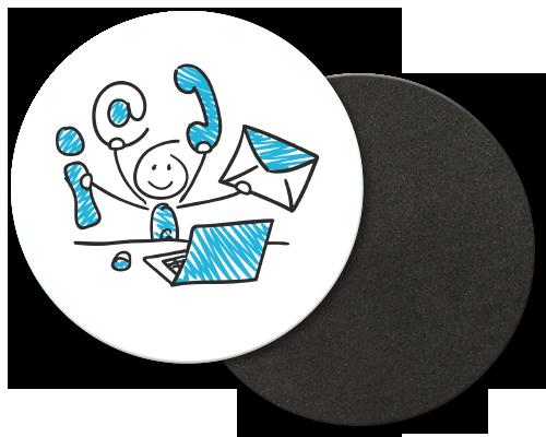 anwendungsbespiele gross bedrucke-untersetzer rund eckig aus kork moosgummi slider