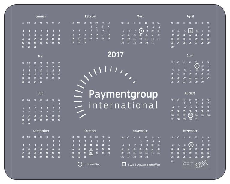 referenzen kundenbeispiele mousepads bedrucken lassen individuell zufriedene Kunden mit Logo Kalender